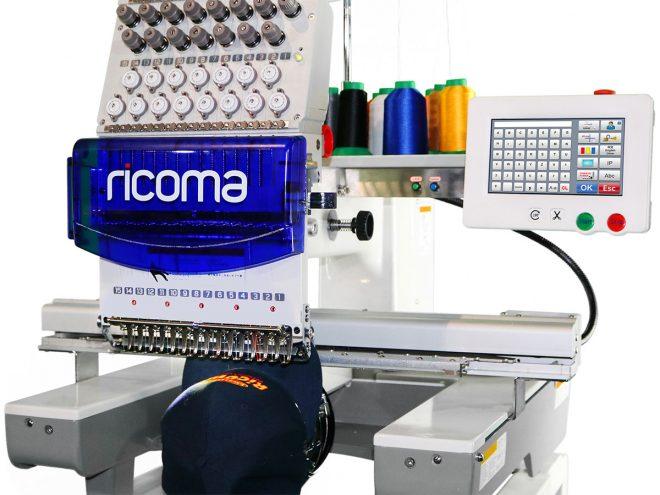 Monotesta compatta RCM 1501 TC7S - Ricoma DalTex